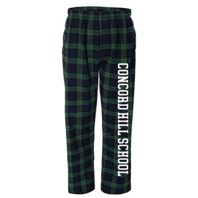 Boxercraft - Flannel Pants with Pockets - Vinyl Logo Thumbnail
